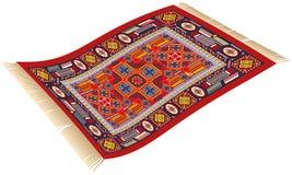 不可思议的地毯 免版税库存照片
