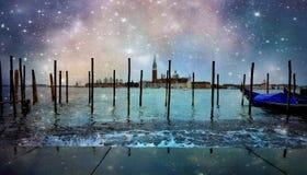不可思议的威尼斯湾 库存照片