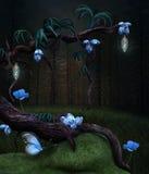 不可思议的树 库存照片