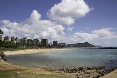 不可思议的海岛奥阿胡岛 免版税库存照片