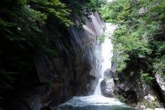 不可思议的瀑布在日本 库存图片