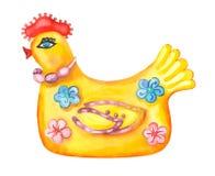 不可思议的鸡 免版税库存图片