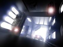 不可能的隧道 免版税库存图片