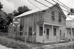 不可能被进入的老木之家 库存图片