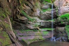 不可靠的峡谷 库存照片
