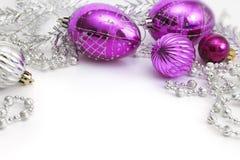 不同圣诞节的装饰 免版税库存照片