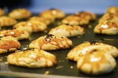 不同的东方阿拉伯土耳其甜点 图库摄影