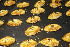 不同的东方阿拉伯土耳其甜点 免版税库存照片