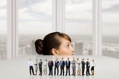 不同的人行业 免版税库存照片