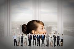 不同的人行业 免版税图库摄影