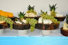 不同的品种乳酪  库存照片