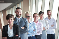 不同的商人小组 免版税库存照片