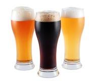 不同的啤酒 库存照片