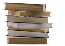 不同的大小书  免版税库存图片