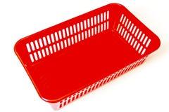 不同的小的事的红色箱子 免版税图库摄影