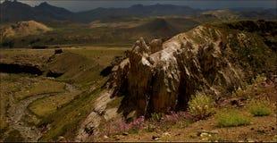 不同的山控制风景 免版税库存图片