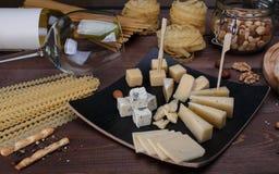 不同的干酪 免版税图库摄影