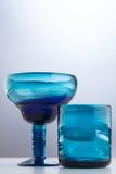 不同的形状玻璃 库存图片