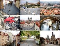 不同的时刻的布拉格 免版税图库摄影