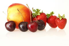 不同的果子 免版税库存照片