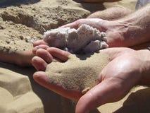 不同的沙子 免版税图库摄影