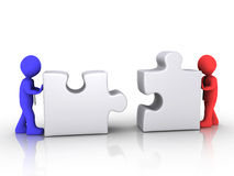 不同的生意人团结 免版税库存图片