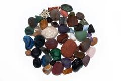 不同的石头 免版税库存照片