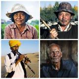 不同的种族差异种族公共概念 库存图片