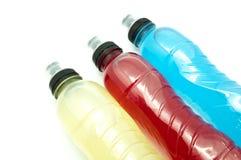 不同的能量饮料味道 库存图片