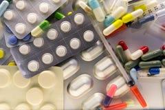 药物和医学 免版税库存照片