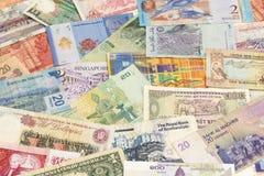 不同的钞票 免版税库存图片