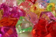 不同的颜色宝石宝石  图库摄影