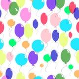 不同的颜色气球 库存图片