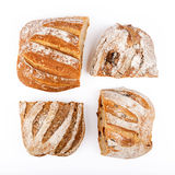 不同的类型土气面包  库存照片