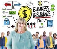 不同种族的人队统一性风险企业概念 免版税库存图片