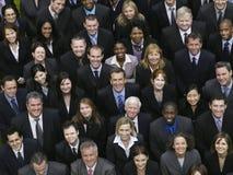 不同种族的商人 库存图片