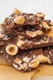 不同附加的巧克力 库存照片