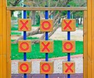 不存在和十字架在公园 免版税库存图片