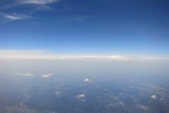 不尽的天空 库存图片