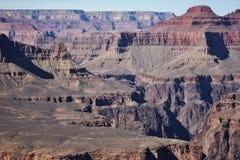 不尽的峡谷 库存图片
