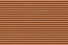 不尽的棕色棕色背景水平的狭窄的条纹和暗色 免版税库存照片