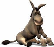 不幸的驴 免版税库存照片