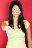 不成功的妇女 免版税库存照片