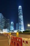 不断变化的香港 库存照片