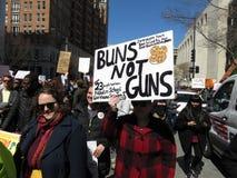 不是小圆面包枪 免版税库存图片
