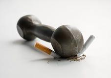 不是烟 免版税库存照片