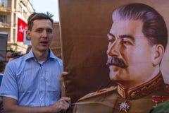 不朽的军团-国际公开行动的参加者 库存照片