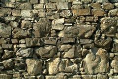 不用灰泥只用石块构造 免版税库存图片
