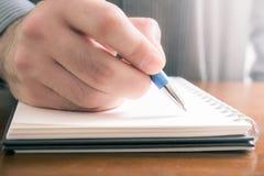 不要忘记概念写重要的事下来在笔记薄 库存照片
