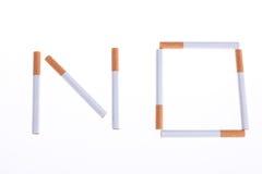 不要抽烟 免版税库存图片
